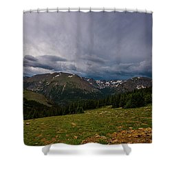 Rock Cut 3 - Trail Ridge Road Shower Curtain