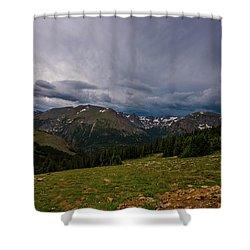 Rock Cut 3 - Trail Ridge Road Shower Curtain