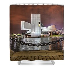 Rock Hall And The North Coast Shower Curtain
