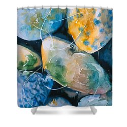 Rock In Water Shower Curtain