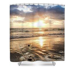Rock 'n Sunset Shower Curtain