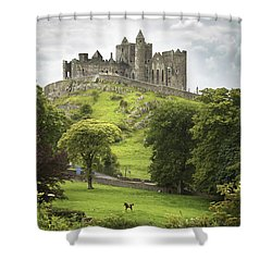 Rock Of Cashel Cashel County Tipperary Shower Curtain