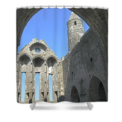 Rock Of Cashel Shower Curtain