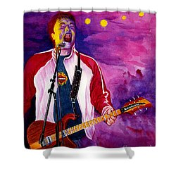Rock On Tom Shower Curtain