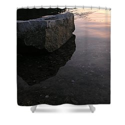 Rock Reflections Shower Curtain