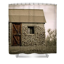 Rock Shed 2 Shower Curtain by Marilyn Hunt