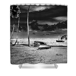 Rock The Boat Extreme Shower Curtain