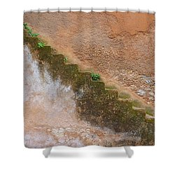 Shower Curtain featuring the photograph Rock The Kasbah by Ramona Johnston
