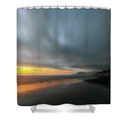 Rockaway Sunset Bliss Shower Curtain