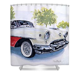 Rocket 88 Shower Curtain