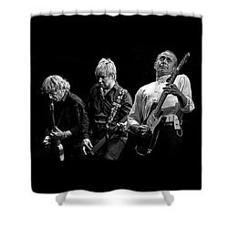 Rockin' All Over The World Shower Curtain