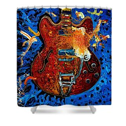 Rockin Epiphone Shower Curtain
