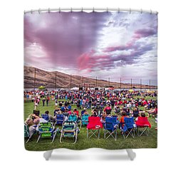 Rockin' On The River 2015 Shower Curtain