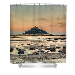 Rockpool And The Mount Shower Curtain
