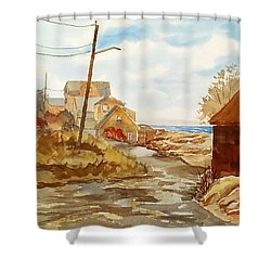 Rockport Coast Shower Curtain