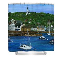 Rockport Dawning Shower Curtain