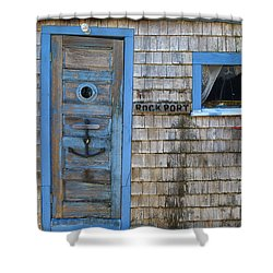 Rockport Massachusetts Shower Curtain