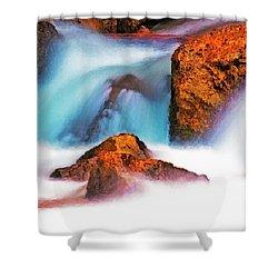 Rocks Of Zion Shower Curtain
