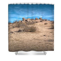 Rocks On The Hill Shower Curtain