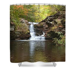 Shower Curtain featuring the photograph Rocktober by Gene Walls