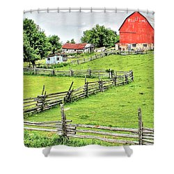 Rockwood Rural Shower Curtain