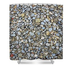 Rocky Beach 1 Shower Curtain by Nicola Nobile