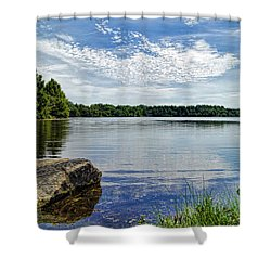 Rocky Fork Lake Shower Curtain