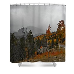 Rocky Mountain Color Shower Curtain