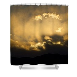 Rocky Mountain Continental Divide Sunset Shower Curtain by James BO  Insogna