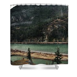 Rocky Mountain Foothills Montana Shower Curtain by Kyle Hanson