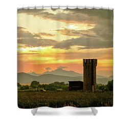 Shower Curtain featuring the photograph Rocky Mountain Front Range Country Landscape by James BO Insogna