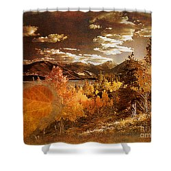 Rocky Mountain Gold 2015 Shower Curtain