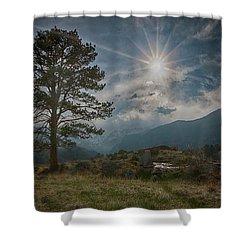 Rocky Mountain High Shower Curtain