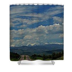 Colorado Rocky Mountain High Shower Curtain