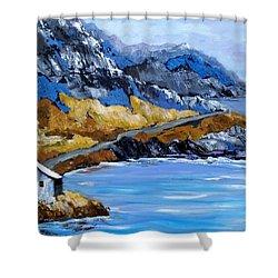 Rocky Mountian Shower Curtain