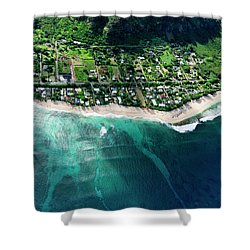 Rocky Point Overview. Shower Curtain