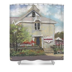 Rocky Point Winery Shower Curtain by Terri  Meyer