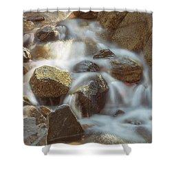 Rocky Water Shower Curtain