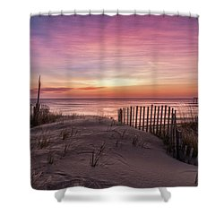 Rodanthe Sunrise Shower Curtain