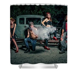 Rodders #3 Shower Curtain