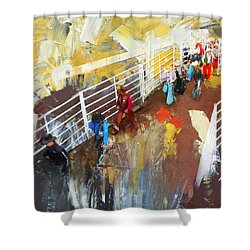 Rodeo 41 Shower Curtain
