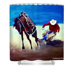 Rodeo Ballet Shower Curtain