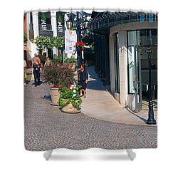 Rodeo Drive, Beverly Hills, California Shower Curtain