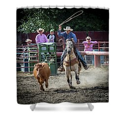 Cowboy In Action#1 Shower Curtain