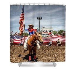 Rodeo Queen Shower Curtain