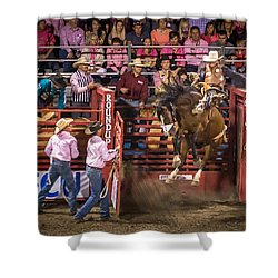 Rodeo Rider Shower Curtain