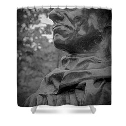 Shower Curtain featuring the photograph Rodin Burgher - II by Samuel M Purvis III