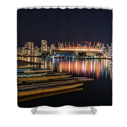 Rogers Arena Vancouver Shower Curtain