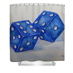 Roll The Dice Shower Curtain