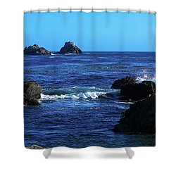 Roll Tide Roll Shower Curtain by B Wayne Mullins